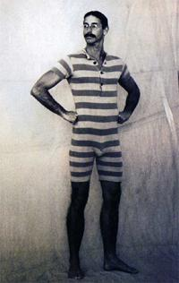 1920s men's swimsuit