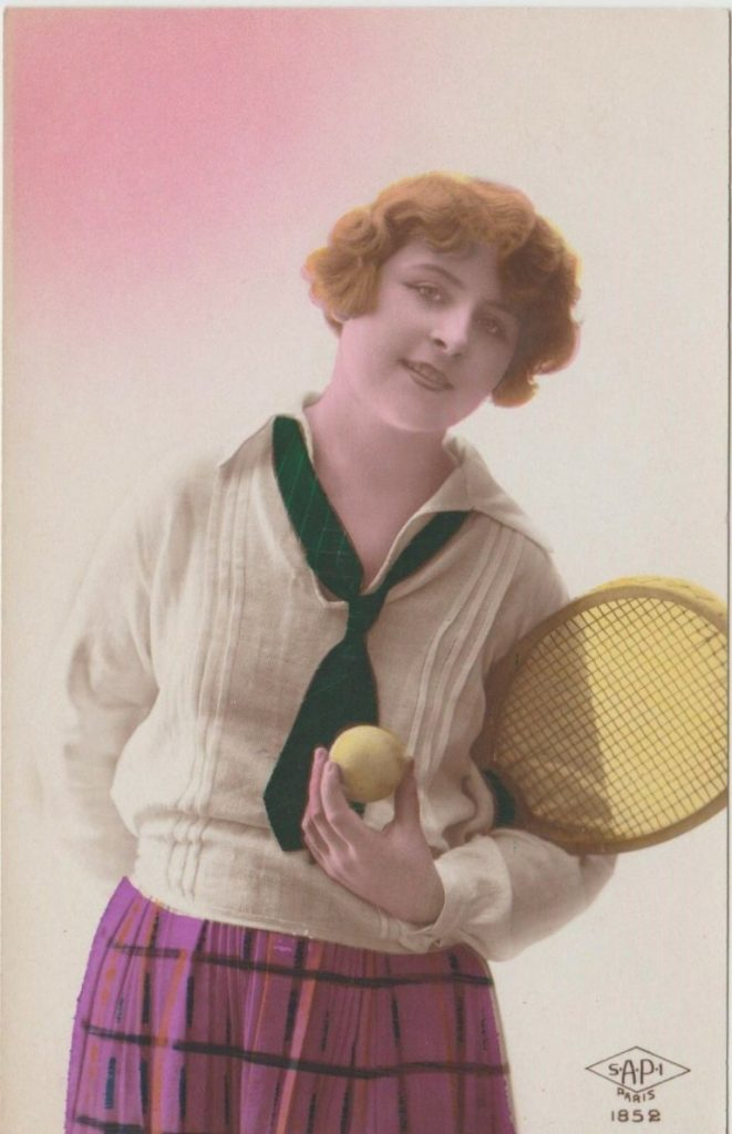 1920s tennis clothing for women