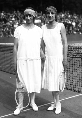 Professional tennis clothing