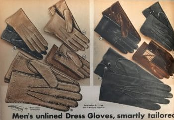 Edwardian men's gloves