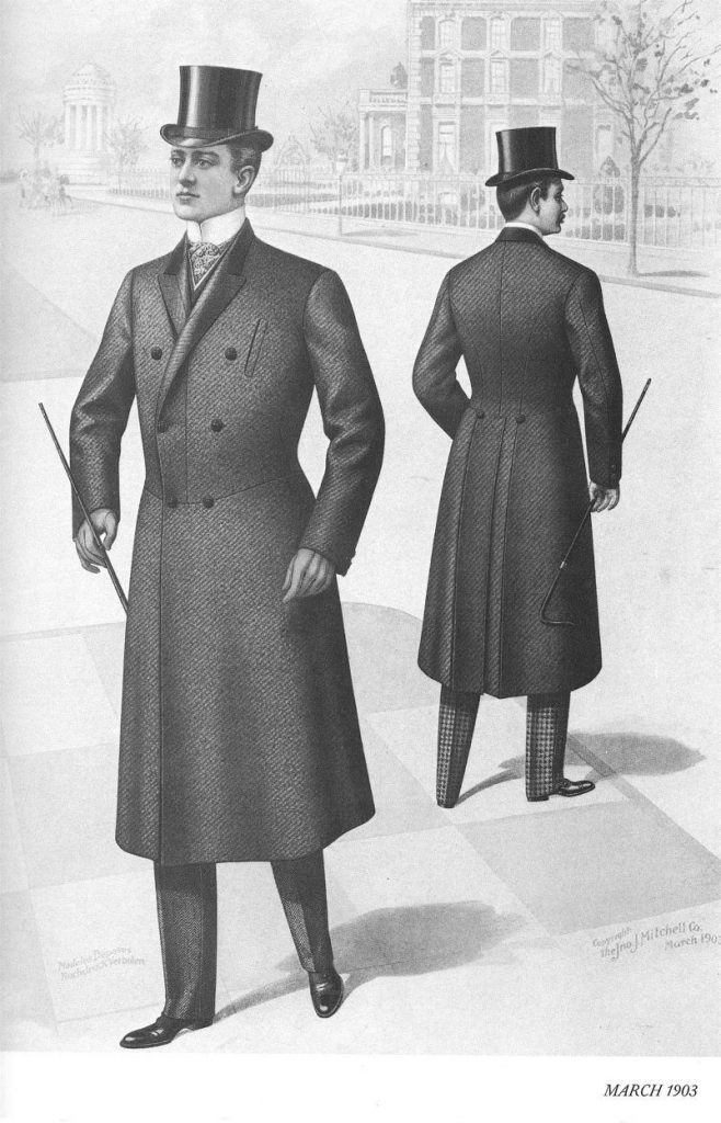 1900s men's fashion