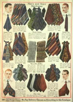 Edwardian Neckties
