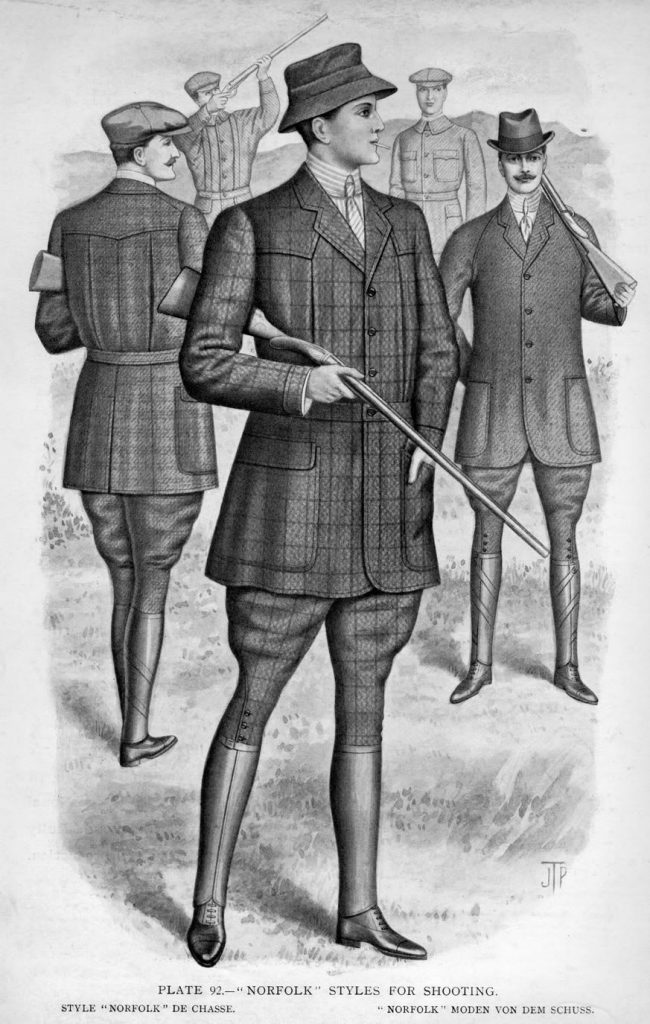 1900s sports clothing