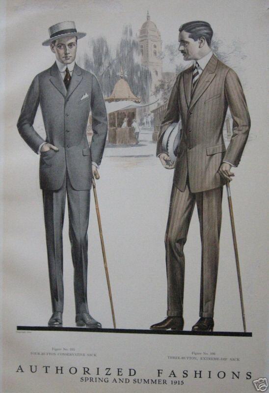 1900s men's Suit