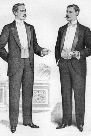 1900s fashion for men