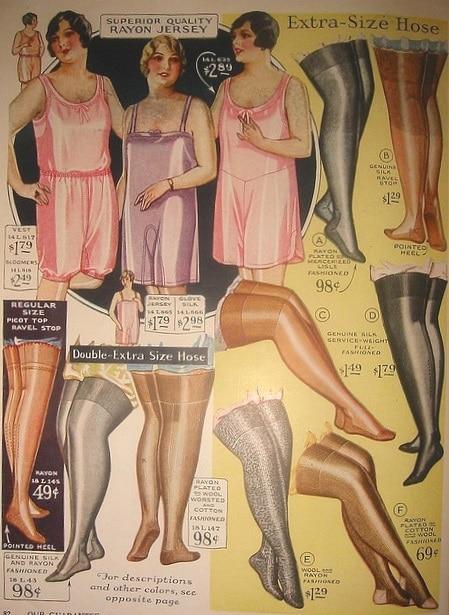 Vintage Stocking styles