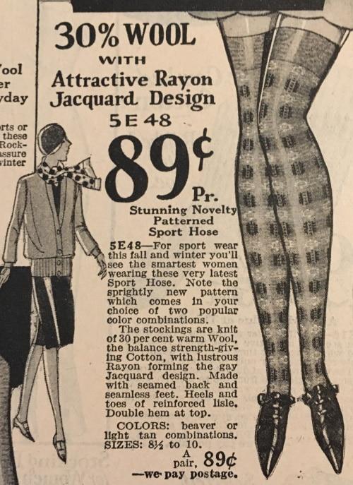 Vintage sports stockings