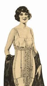 Vintage lingerie style