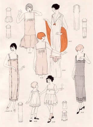 Vintage dress slips