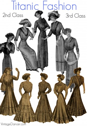 Titanic dress patterns