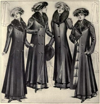 Titanic women's coats