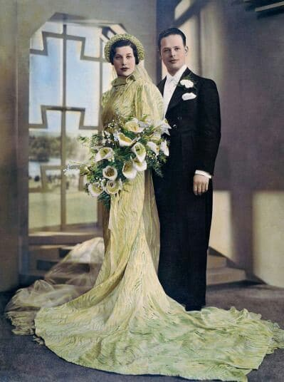 1930s wedding suits