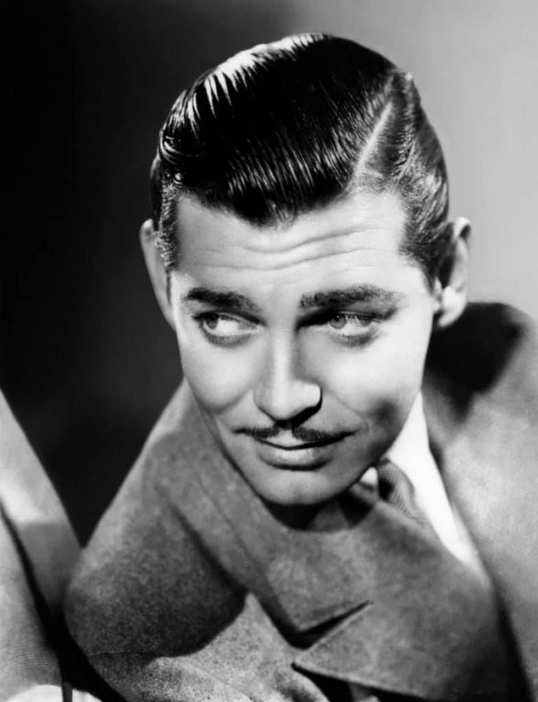Vintage men's hairstyle