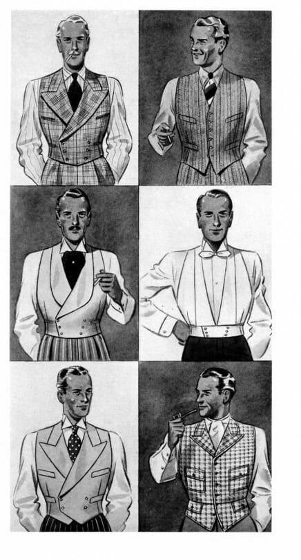 1930s vests