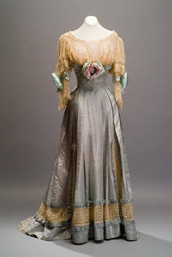 Edwardian evening dress