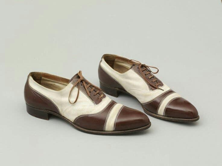 1930s men's wedding shoes