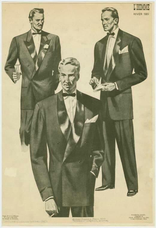 Wedding tuxedos for 1930s men
