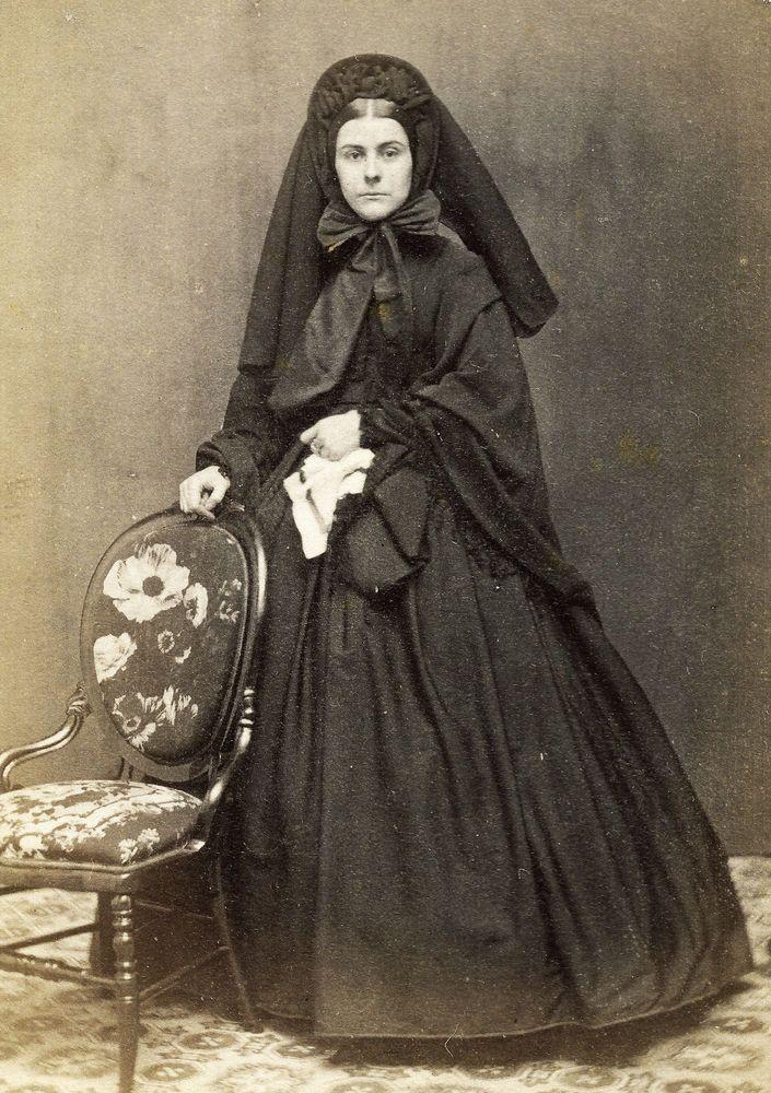 Victorian Widow's Weeds
