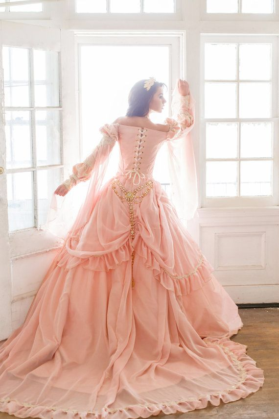 Modern Victorian Princess Gown