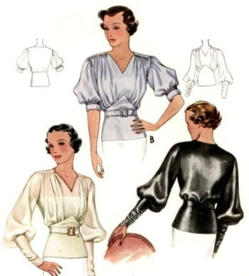 1930s blouse
