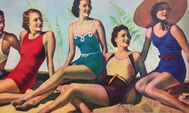 1930s swimsuit