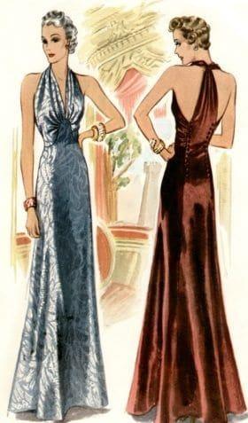 1930s women fashion