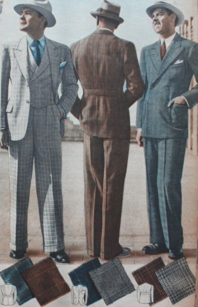 1930s formal suits