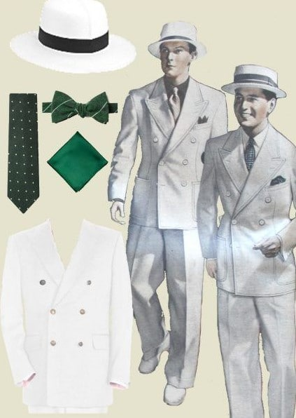 1930s summer suits