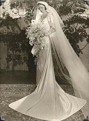 1930s wedding dress