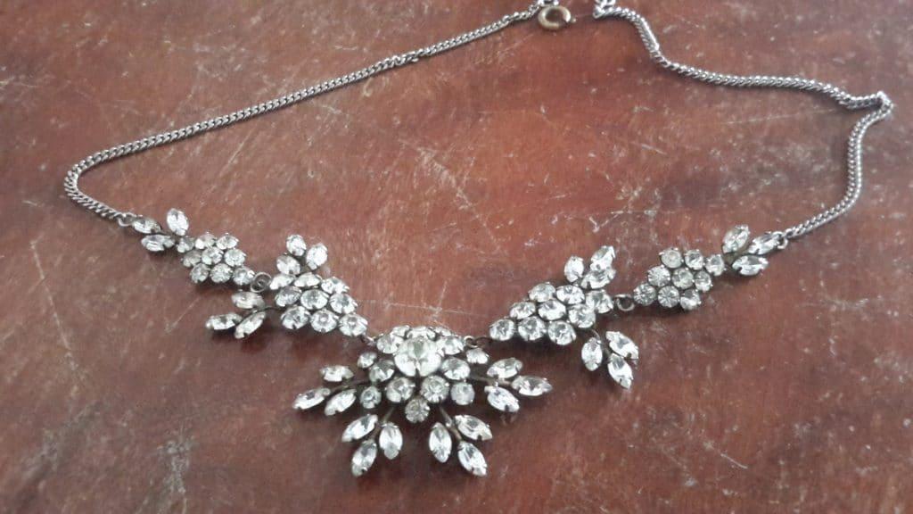1930s paste necklace