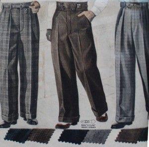 vintage men's pants